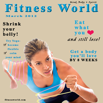 We Can Create For You A Magazine Cover Layout